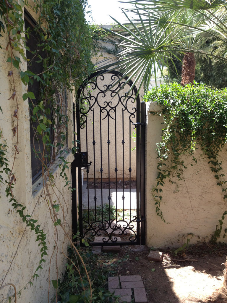 Wrought Iron Gates: DCS Industries, LLC