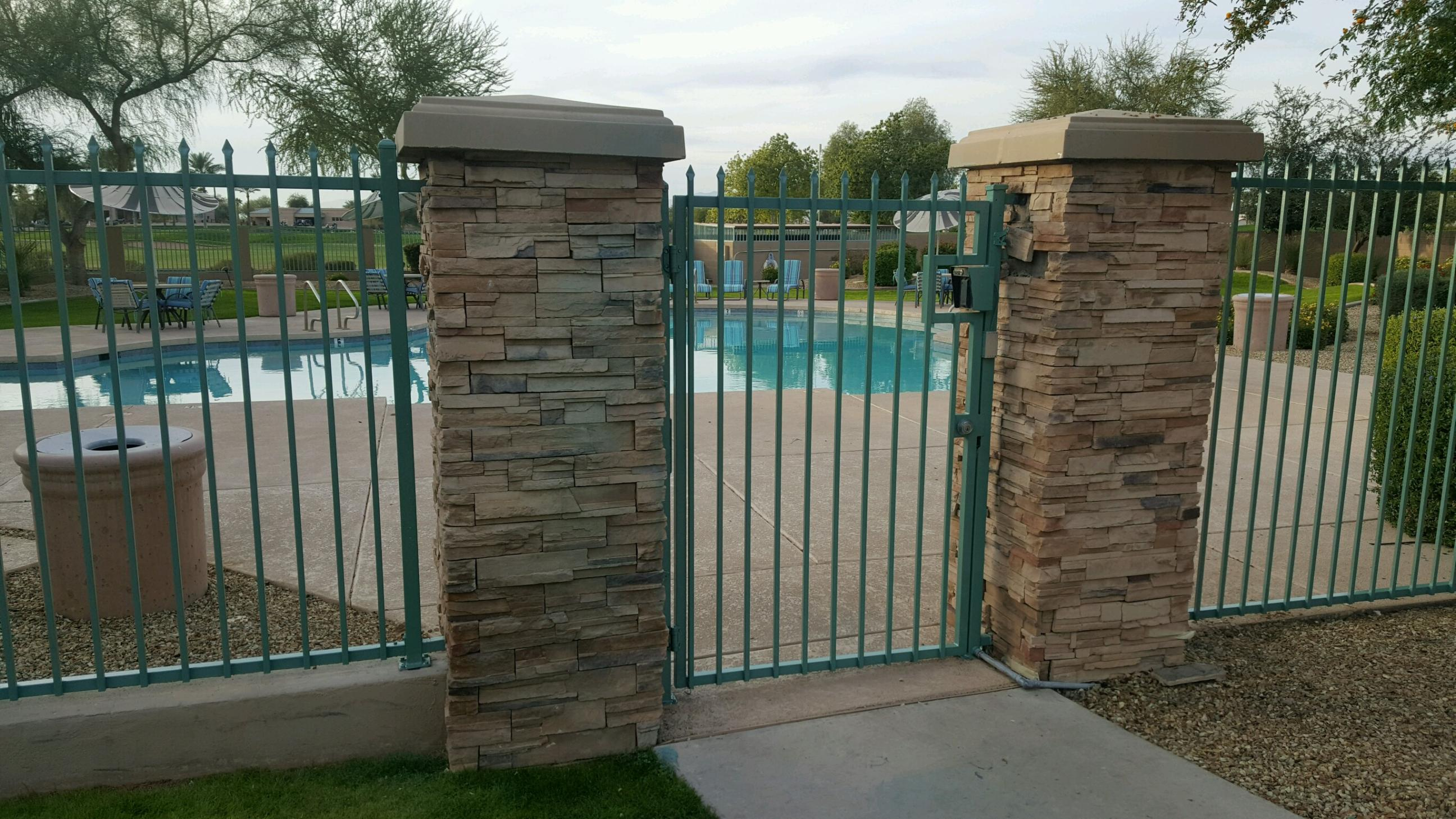 Fence and gate repair how to trim pickets timber