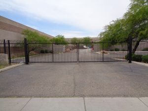 Security Fencing - Wrought Iron Fencing